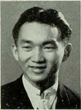 Takeo Akizaki's McKinley H.S. yearbook photo