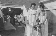 Two Korean Women and a Child at Angel Island