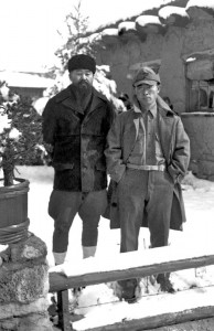 Shigeo (l) and Kakuro, in New Mexico