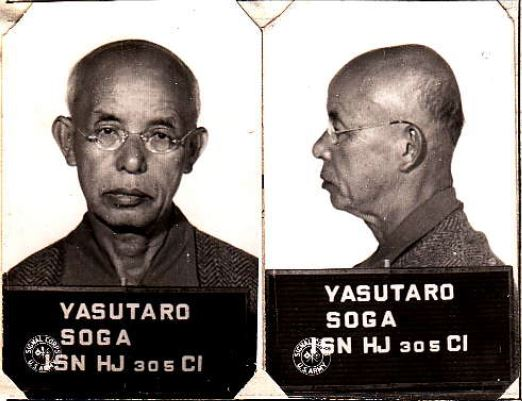 Journalist Yasutaro Soga''s Detention on Angel Island During World War II