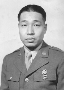 Private Tet M. Yee in 1944